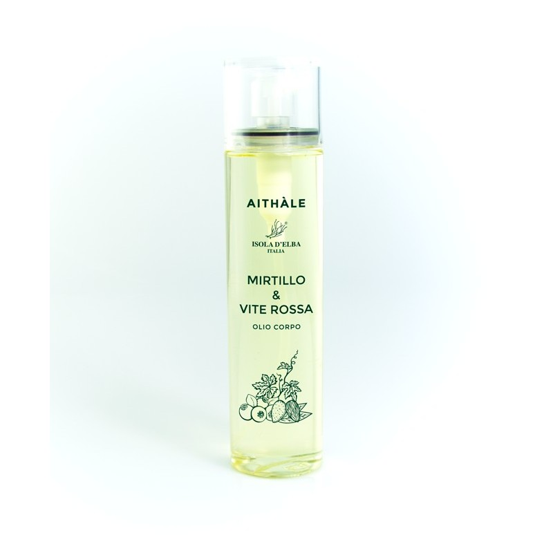 Olio corpo MIRTILLO & VITE ROSSA 100ml