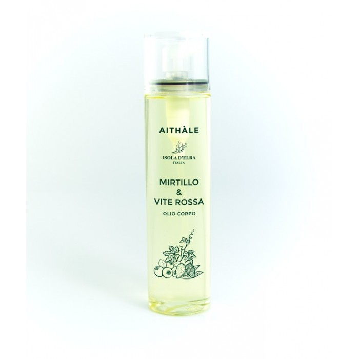 Body oil MIRTILLO & VITE ROSSA 100ml